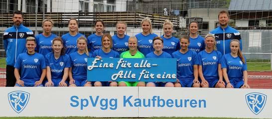 Die Frauen-Mansnchaft in der Saison 19/20; Foto: Thomas Weißenbach
