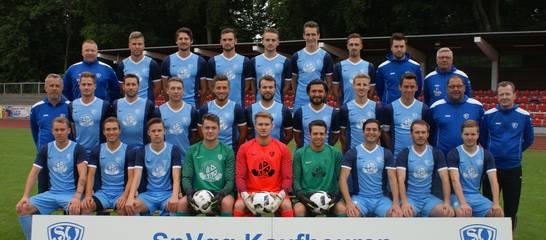 Das Landesliga-Team der SVK in der Saison 2017/2018. Foto: Stefan Günter