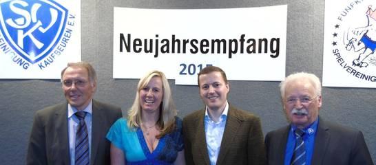Neujahrsempfang 2015 mit Christian Stiegler