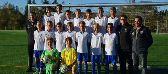 Das D-Juniorenteam der SVK in der Spielzeit 2017/2017. Foto: Bettina Weimer