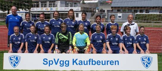 Die Landesliga-Kickerinnen der SVK in der Spielzeit 2017/2018. Foto: Stefan Günter