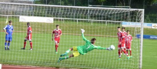 Spiel der C-Jugend gegen den FCB