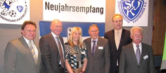 Neujahrsempfang 2012 mit Franz Maget