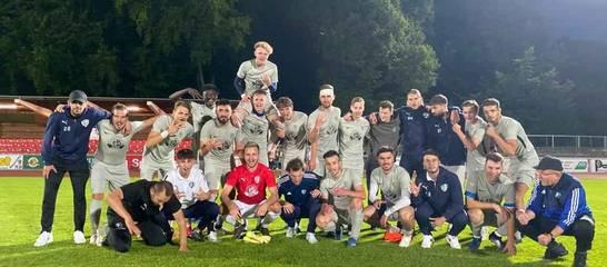 Freude über den ersten Sieg in der Saison!; Foto: H.Ressel