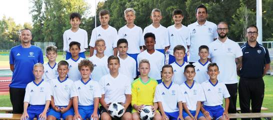 Die U13 in der Saison 18/19, Foto: M. Heinrich