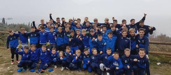 die Jugend im Trainingslager am Gardasee