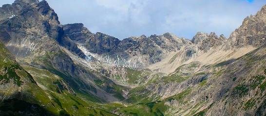 Die Lechtaler Alpen - ein Traumblick