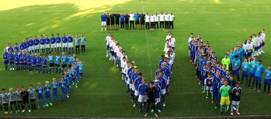 Die SVK-Jugend mit Ihren Trainern 18/19, Foto: M. Heinrich