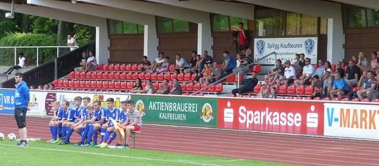 Spiel der C-Jugend gegen den FCB; Quelle: W.Ressel